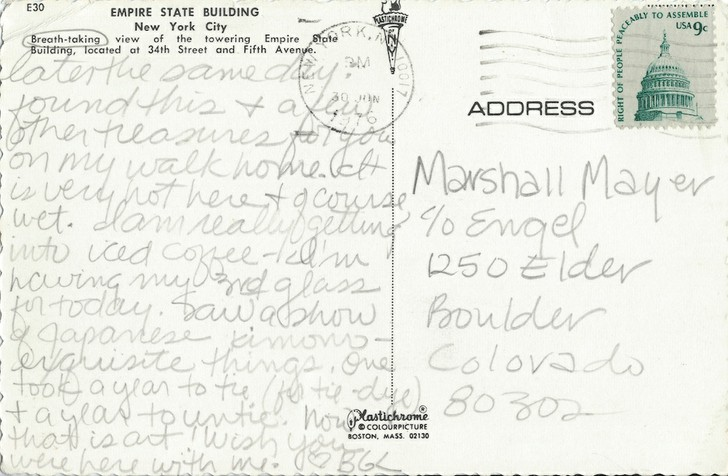 Bonnie Lambert to Marshall Mayer (3 of 3)