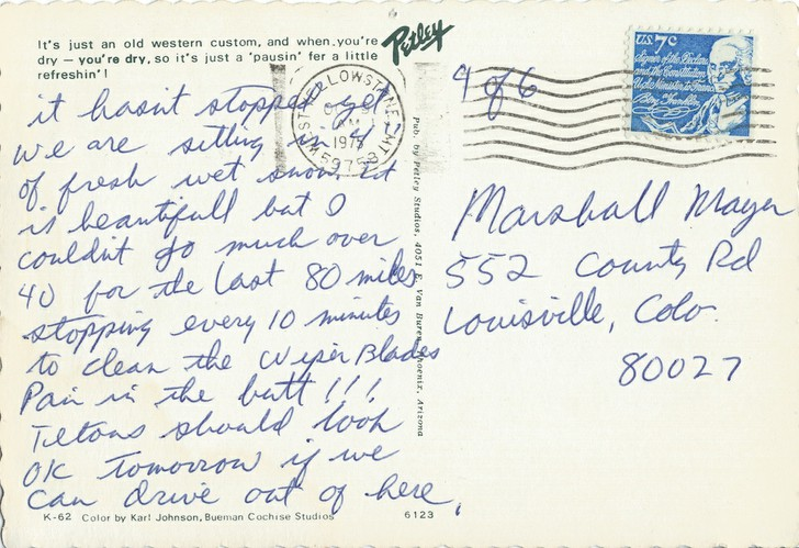 Mark and Brenda Mayer to Marshall Mayer (4 of 6)